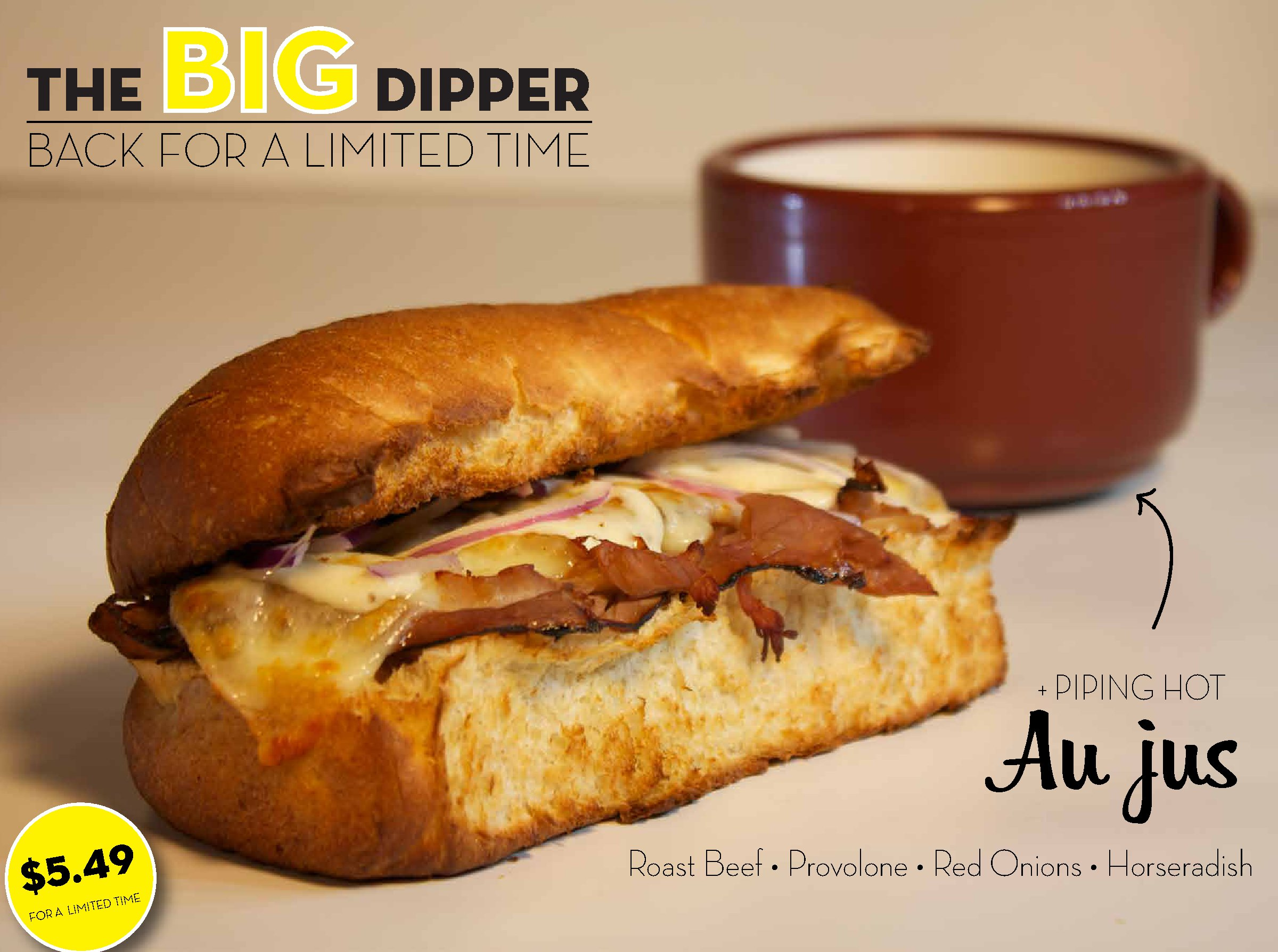 The Big Dipper is back for a limited time only