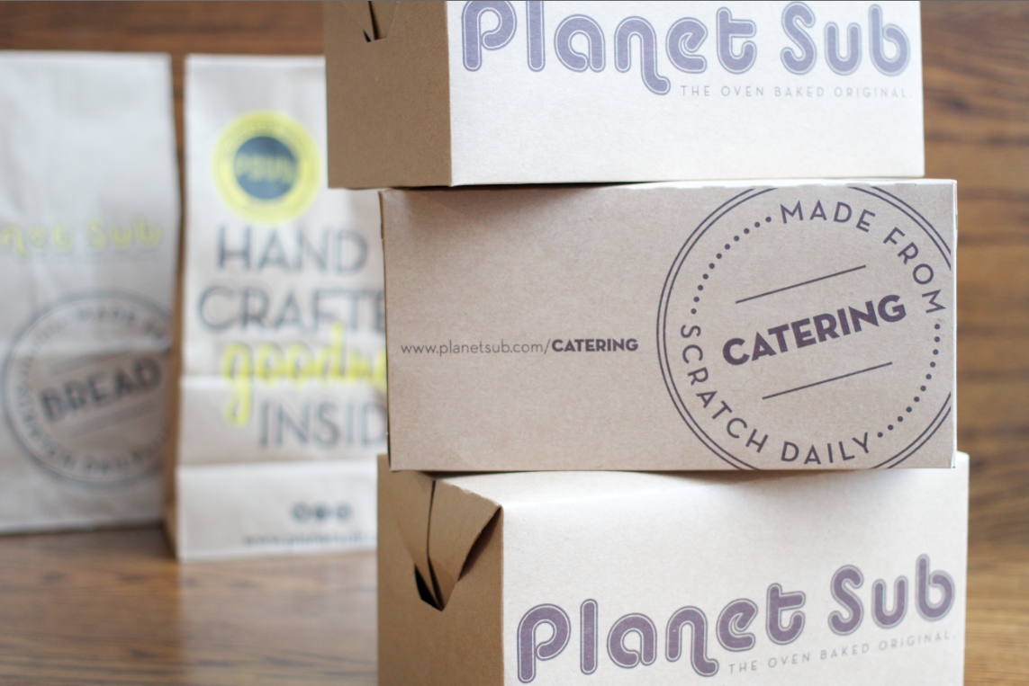 Box Lunches | Catering | Planet Sub