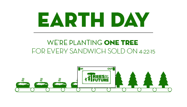 Planet Sub to plant one tree for every sub sold